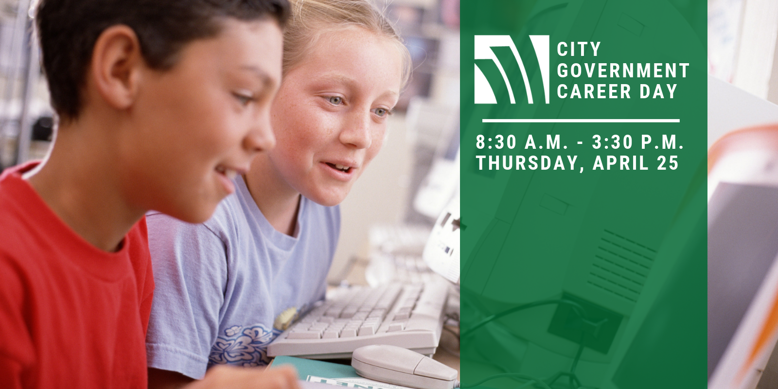 City Government Career Day Website Header